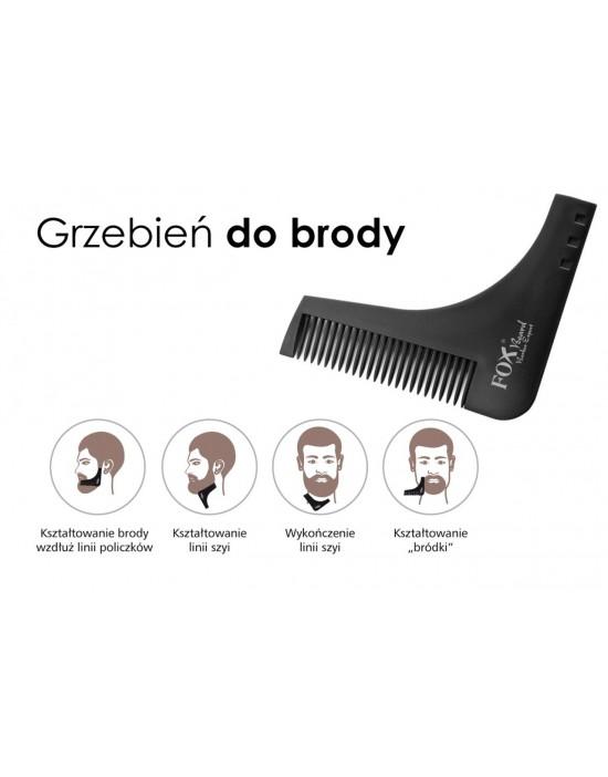 Grzebień do brody Fox Beard