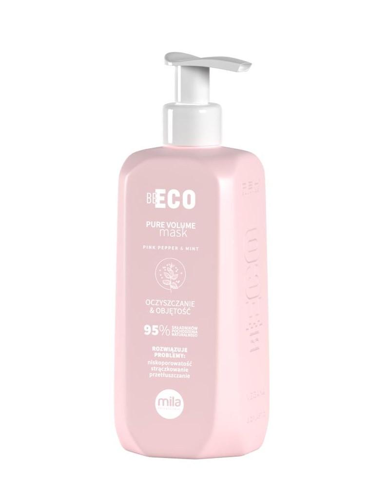 Mila Be Eco Maska Pure Volume oczyszczająca i nadająca objętość