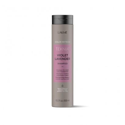 Lakme Teknia Violet Lavender, REFRESH Shampoo, szampon do włosów farbowanych w odcieniach fioletowych 300 ml