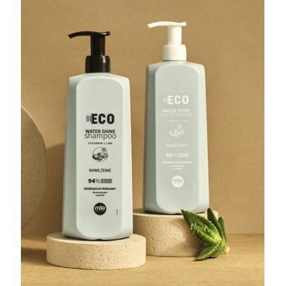 Zestaw nawilżający Mila Be Eco: Szampon Water Shine 900 ml + Maska Water Shine 900 ml