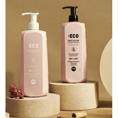 Szampon Mila Be Eco Pure Volume 900 ml, Maska Mila Be Eco Pure Volume 900 ml
