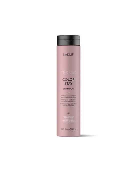 Lakme Teknia szampon COLOR STAY, szampon do włosów farbowanych 300ml