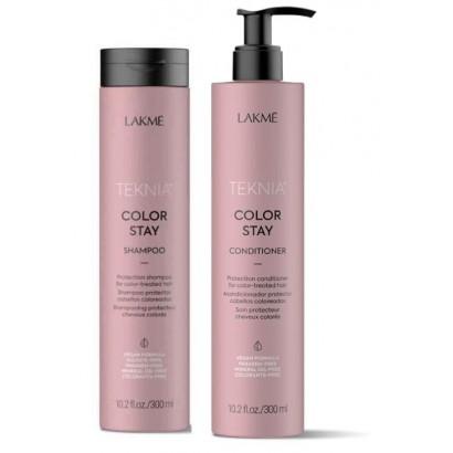 Lakme Teknia Color Stay: Szampon Color Stay, odżywka Color Stay