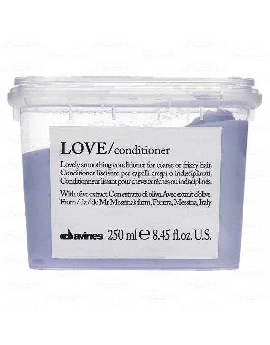 Davines Love Smooth, odżywka wygładzająca LOVE SMOOTH Conditioner 250 ml
