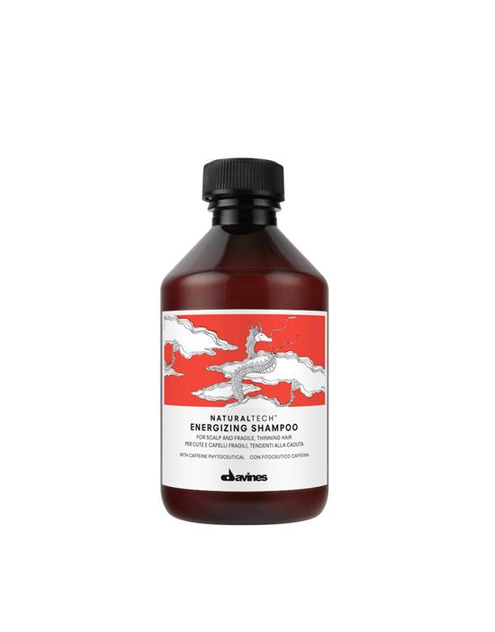 Davines Energizing NATURALTECH, szampon do osłabionej skóry głowy i włosów z tendencją do wypadania 250 ml