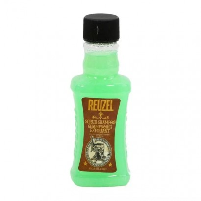 Reuzel Scrub Shampoo 100 ml, szampon oczyszczający włosy i skórę głowy