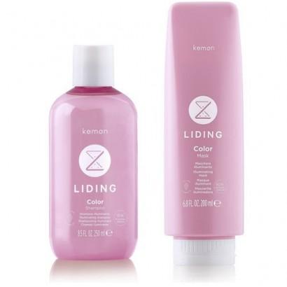 Kemon Liding Color: zestaw szampon 250 ml, maska 200ml