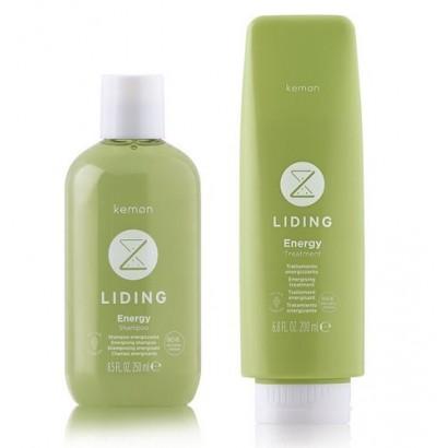 Kemon Liding Energy, zestaw: szampon 250 ml, odżywka 200 ml