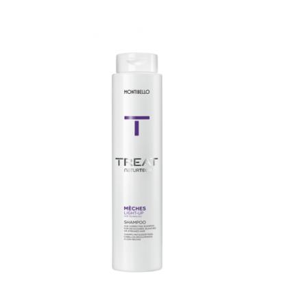 Szampon do włosów po dekoloryzacji Treat Naturtech Meches Light-Up 300 ml