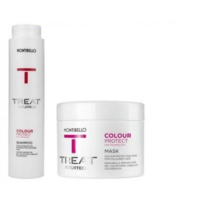 Montibello Color Protect zestaw: szampon 300 ml, maska 200 ml
