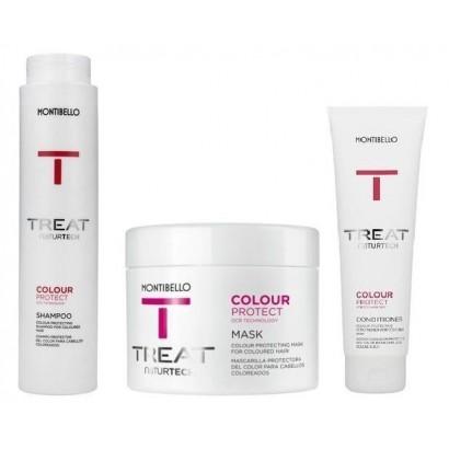 Montibello Color Protect zestaw: szampon 300 ml, maska 200 ml, odżywka 150 ml