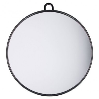 Lusterko okrągłe 28cm Mila czarne