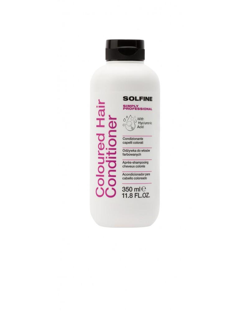 Solfine Odżywka CARE COLOURED HAIR 350 ml, odżywka do włosów farbowanych