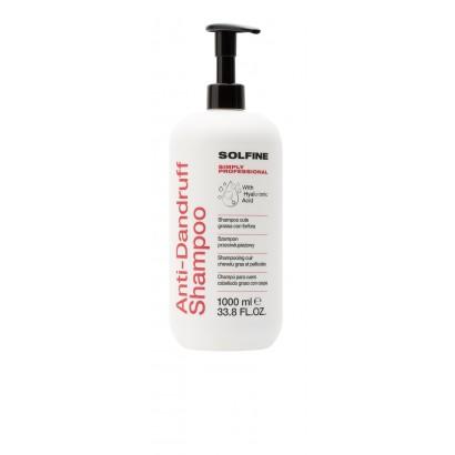 Solfine szampon CARE ANTI-DANDRUFF 1000 ml, Szampon przeciwłupieżowy