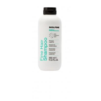 Solfine szampon CARE FINE HAIR 350 ml, szampon do włosów cienkich, delikatnych