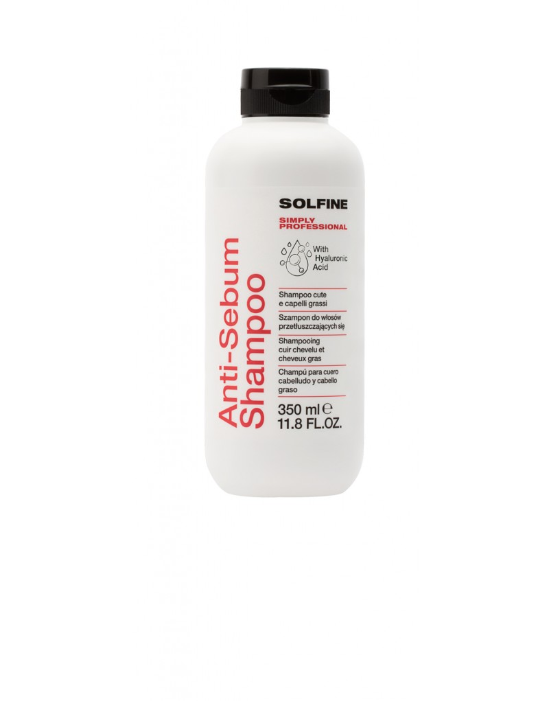 Solfine szampon CARE ANTI-SEBUM 350 ml, Szampon do włosów przetłuszczających się