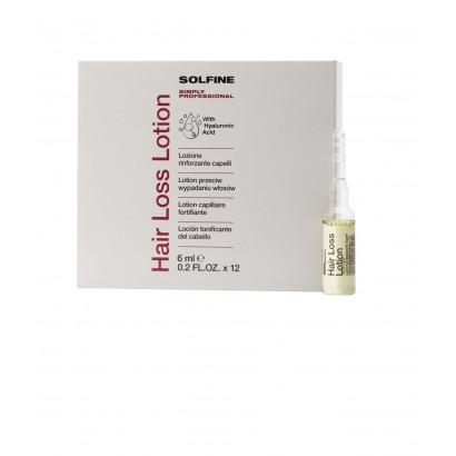 Solfine ampułki CARE HAIR LOSS przeciw wypadaniu włosów 12 x 6 ml