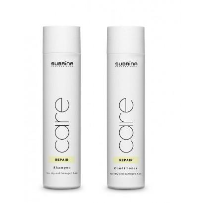 Subrina Professional zestaw szampon Repair 250 ml, odżywka Repair 250 ml