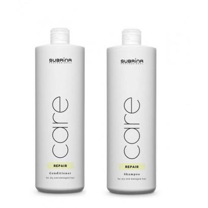Subrina Professional zestaw szampon Repair 1000 ml, odżywka Repair 1000 ml