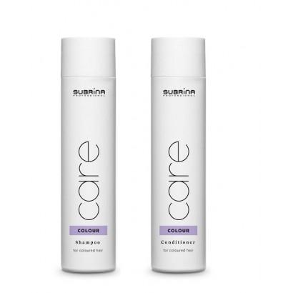 Subrina Professional: Szampon Colour 250 ml, odżywka Colour 250 ml