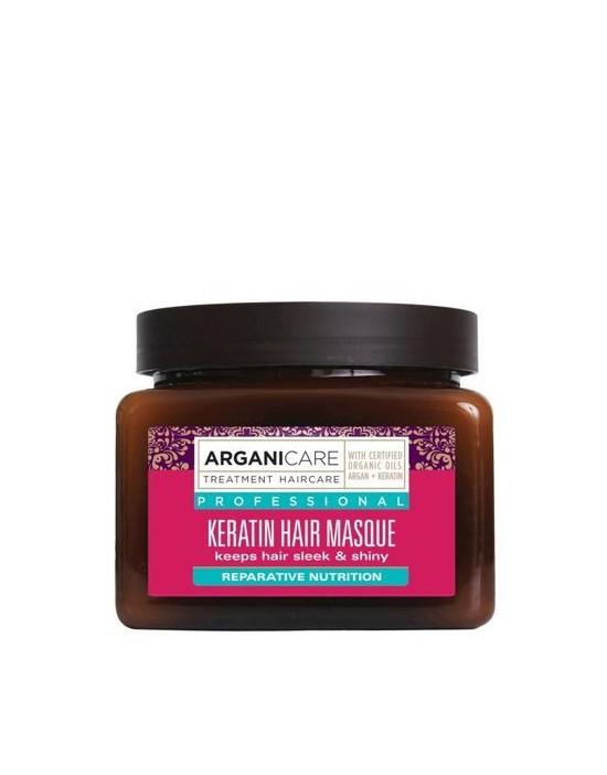 Arganicare Keratin maska do włosów suchych i zniszczonych 500 ml