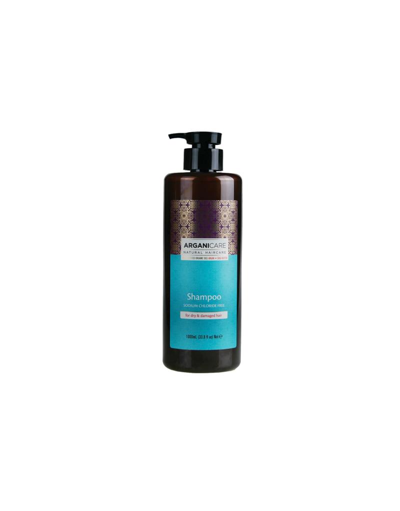 Arganicare Argan + SHEA BUTTER odżywczy szampon do włosów 1000 ml