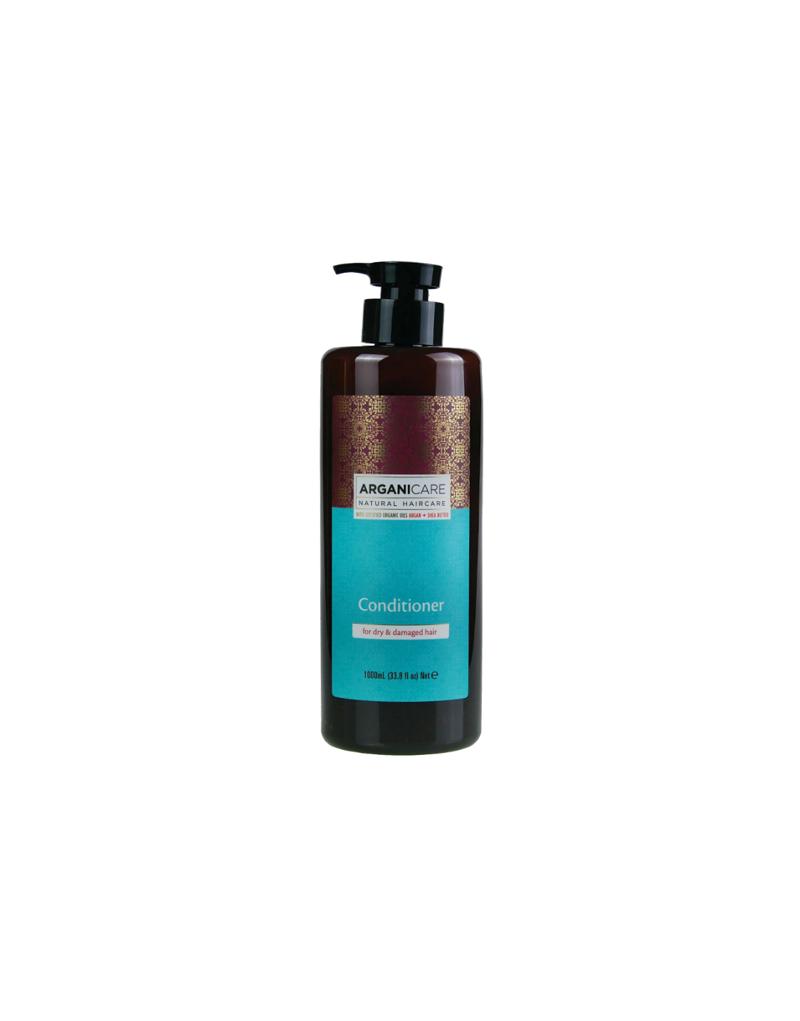 Arganicare ARGAN + SHEA BUTTER odżywka do włosów po zabiegach i farbowanych 1000 ml