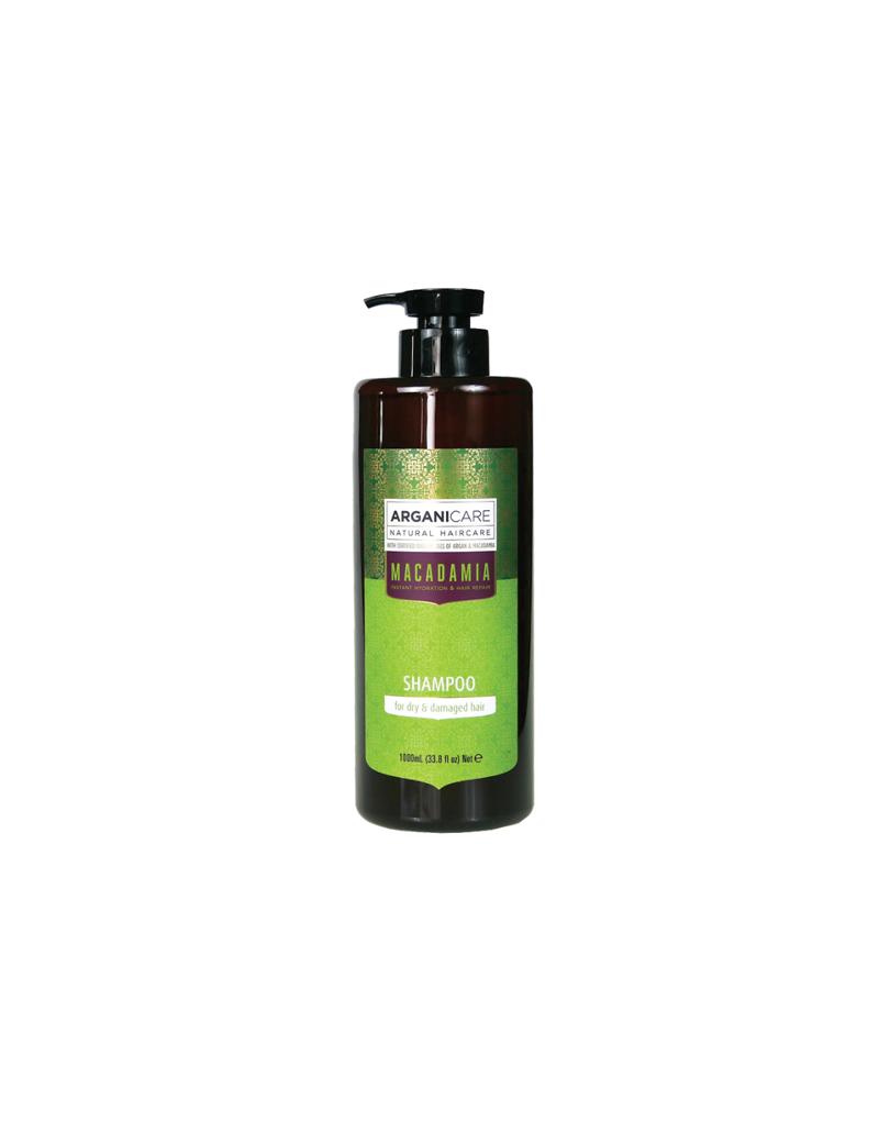 Arganicare MACADAMIA szampon do włosów nawilżająco obudowujący 1000 ml