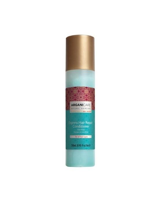 Arganicare ARGAN + SHEA BUTTER, regenerująca odżywka eskpresowa do włosów z masłem Shea 250 ml