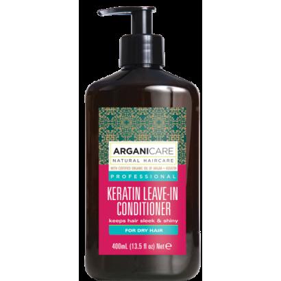 ArganicareE KERATIN odżywka bez spłukiwania do włosów suchych 400 ml