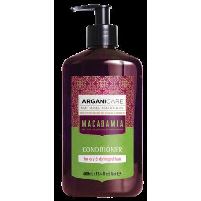 Arganicare MACADAMIA, odżywka ultra-nawilżająca do włosów z olejem Macadamia 400 ml