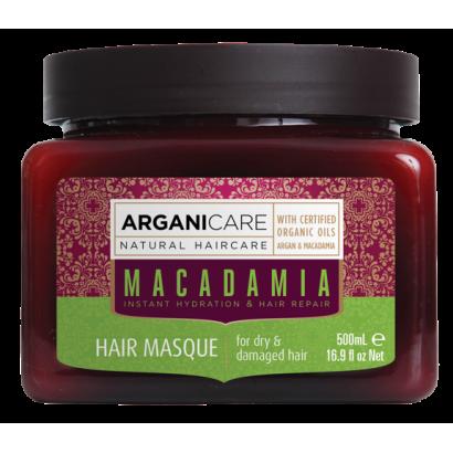 Arganicare MACADAMIA, maska nawilżająca do włosów 500 ml
