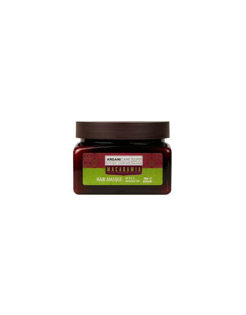 Arganicare MACADAMIA, maska nawilżająca i regenerująca do włosów suchych z olejkiem Arganowym i Macadamia 350 ml