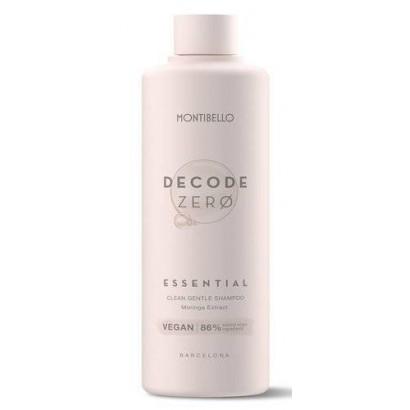 Szampon do włosów Decode Zero Essential Montibello 1000 ml
