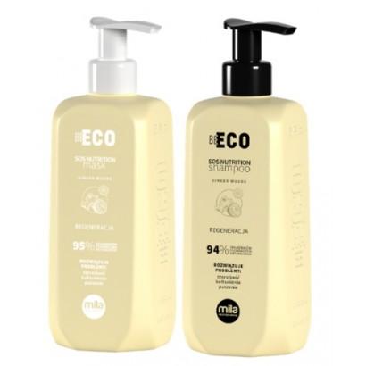 Mila Professional, zestaw regenerujący, szampon 250 ml + maska 250 ml