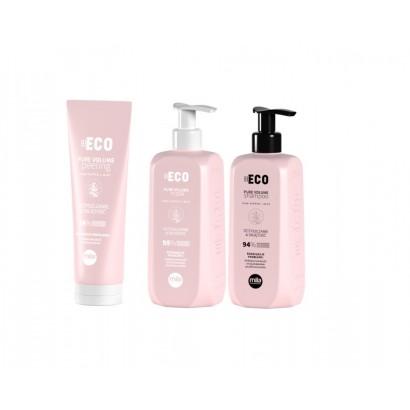 Mila Professional, zestaw oczyszczający i nadający objętości Pure Volume, szampon 250 ml + maska 250 ml + peeling 200 ml