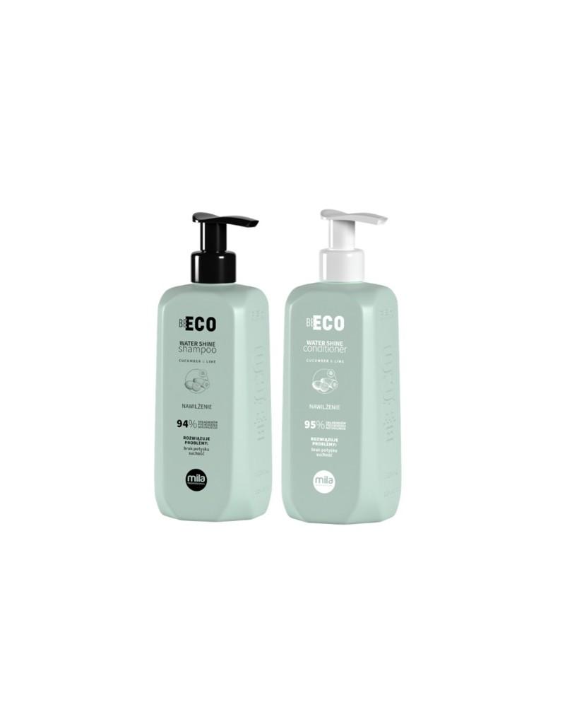 Mila Professional, zestaw nawilżający, szampon 250 ml + maska 250 ml