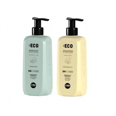 Mila Professional, zestaw szamponów, regenerujący 250 ml + nawilżający 250 ml