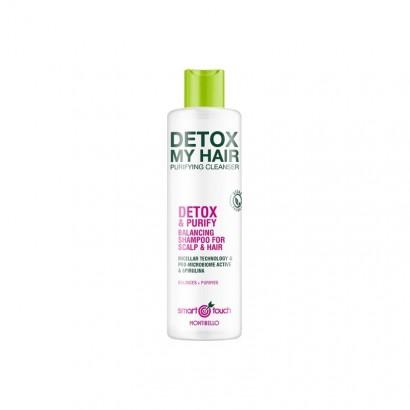 Montibello Smart Touch, Detox My Hair, Micelarny szampon oczyszczający 300 ml