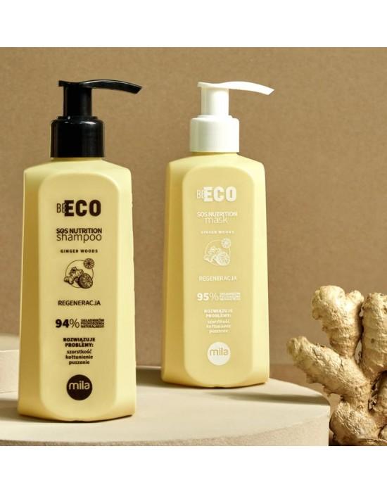 Szampon Mila Be Eco SOS 900 ml + Maska Mila Be Eco SOS 900 ml