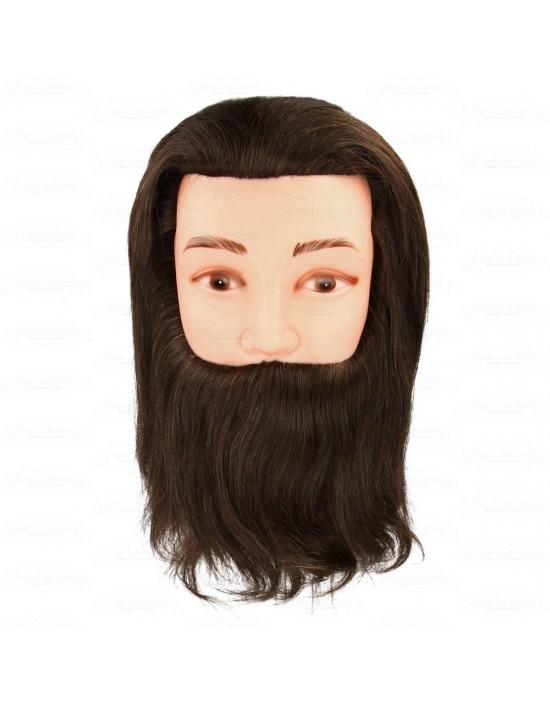 Mila Technic model głowa, głowa męska z brodą 20 cm