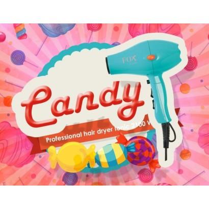 Suszarka fryzjerska Fox Candy, turkusowa, 2100 W