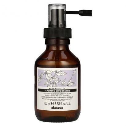 Davines Naturaltech Calming Superactive, łagodzący koncentrat do wrażliwej skóry głowy i włosów 100 ml