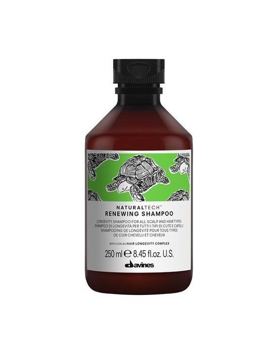 Davines Naturaltech Renewing Shampoo, szampon anti-age do wszystkich rodzajów włosów 250 ml