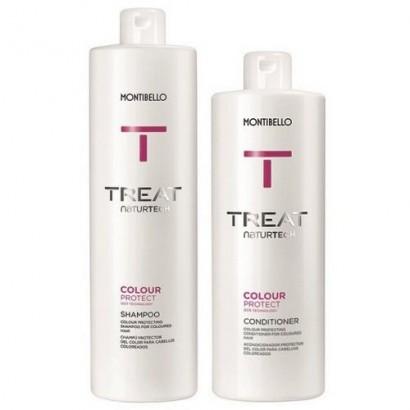 Montibello Colour Protect zestaw: szampon 1000 ml, odżywka 750 ml