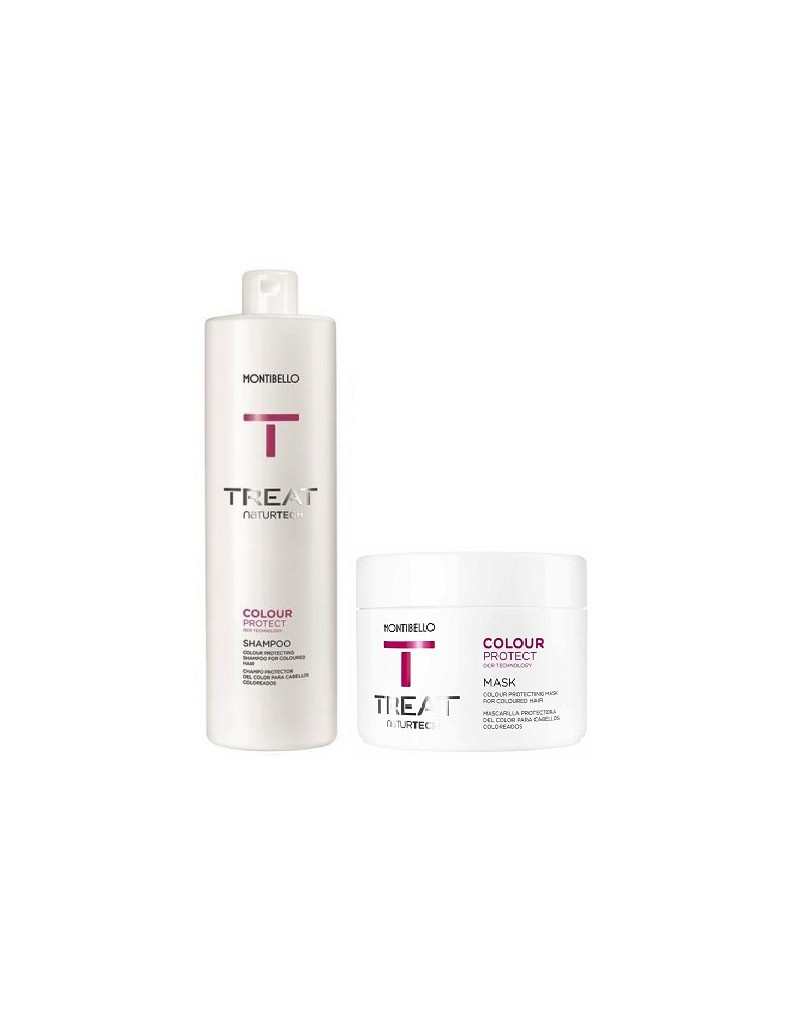 Montibello Colour Protect zestaw: szampon 1000 ml, maska 500 ml