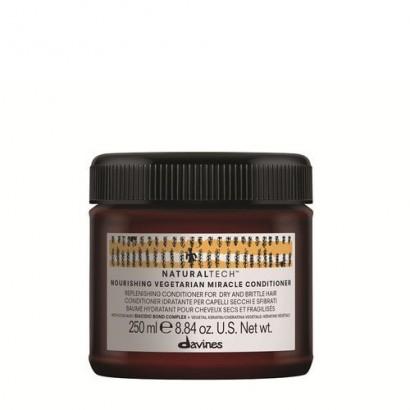 Davines Naturaltech Nourishing Vegetarian Miracle, odżywka do włosów suchych i łamliwych 250 ml