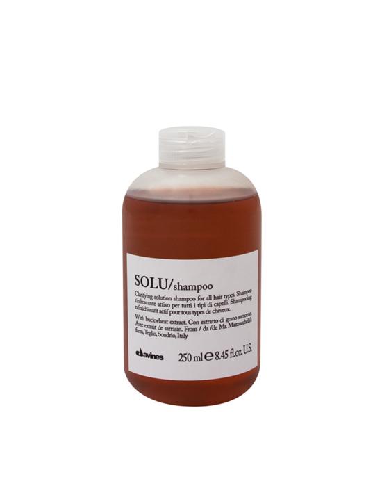 Davines Essential Haircare, Szampon codzienny, odświeżający SOLU 250 ml