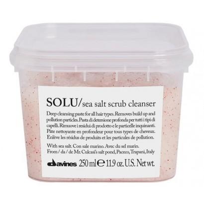 Davines Essential Haircare, Peeling odświeżający SOLU z solą morską 250 ml