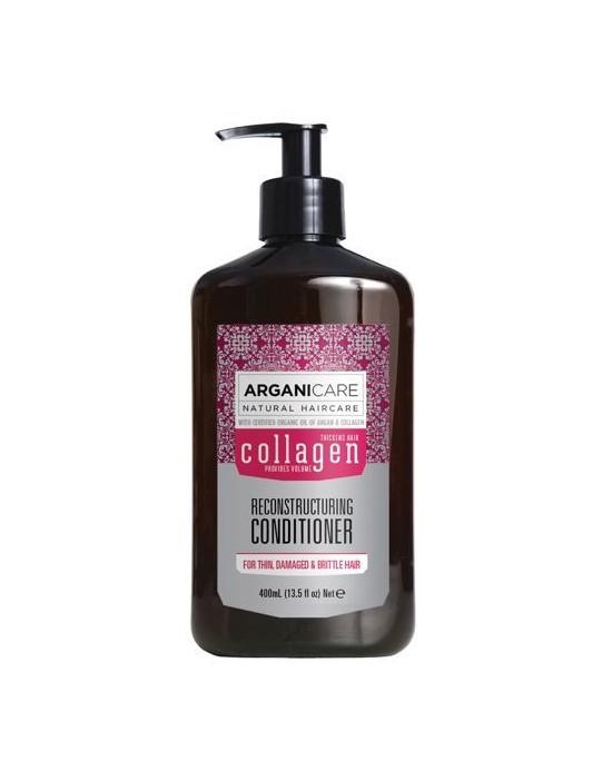 Arganicare Collagen, Odżywka głęboko odżywiająca i nawilżająca włosy i skórę głowy